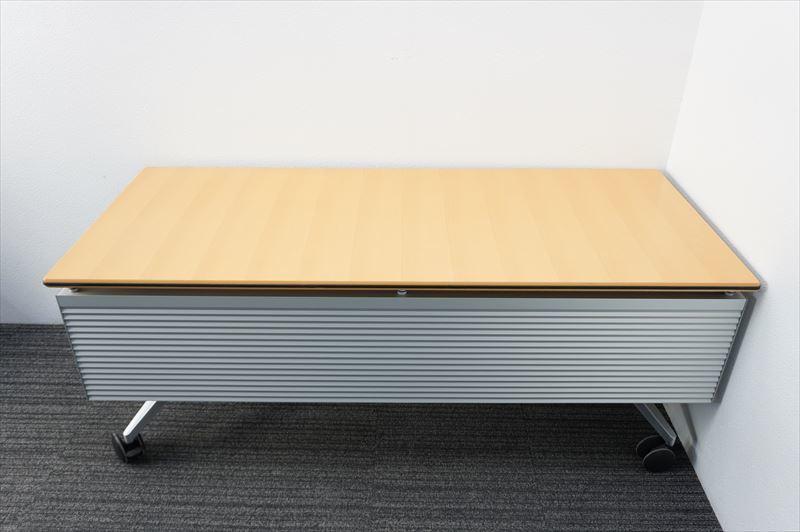 【中古】ウィルクハーン ロゴン ミーティングテーブル 幕板付 1875 H730 (1)_画像8
