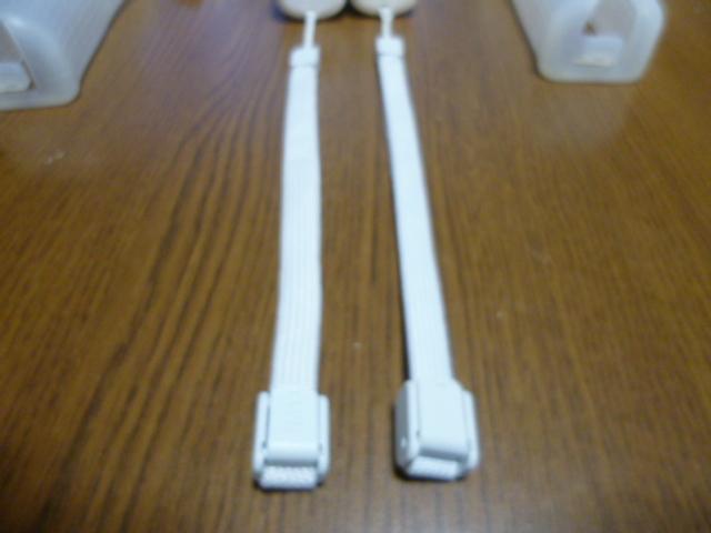 RSJ083【送料無料 即日配送 動作確認済】Wii リモコン 2個セット ホワイト 白 ストラップ ジャケット セット リモコンカバー
