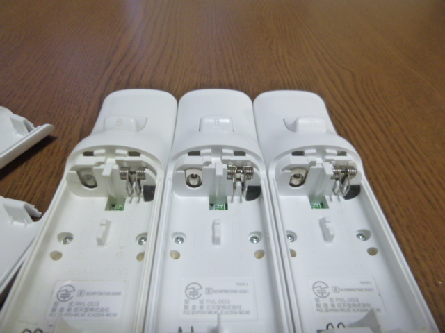 RS010【送料無料 即日配送 動作確認済】Wii リモコン ストラップ 3個セット ホワイト 白 セット