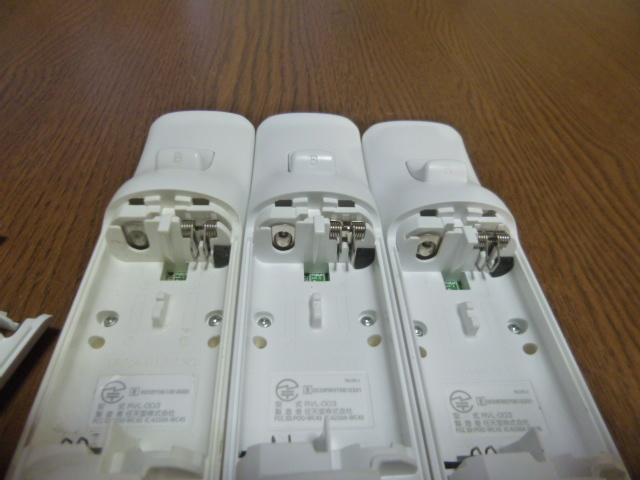 RS026【送料無料 即日配送 動作確認済】Wii リモコン ストラップ 3個セット ホワイト 白 セット