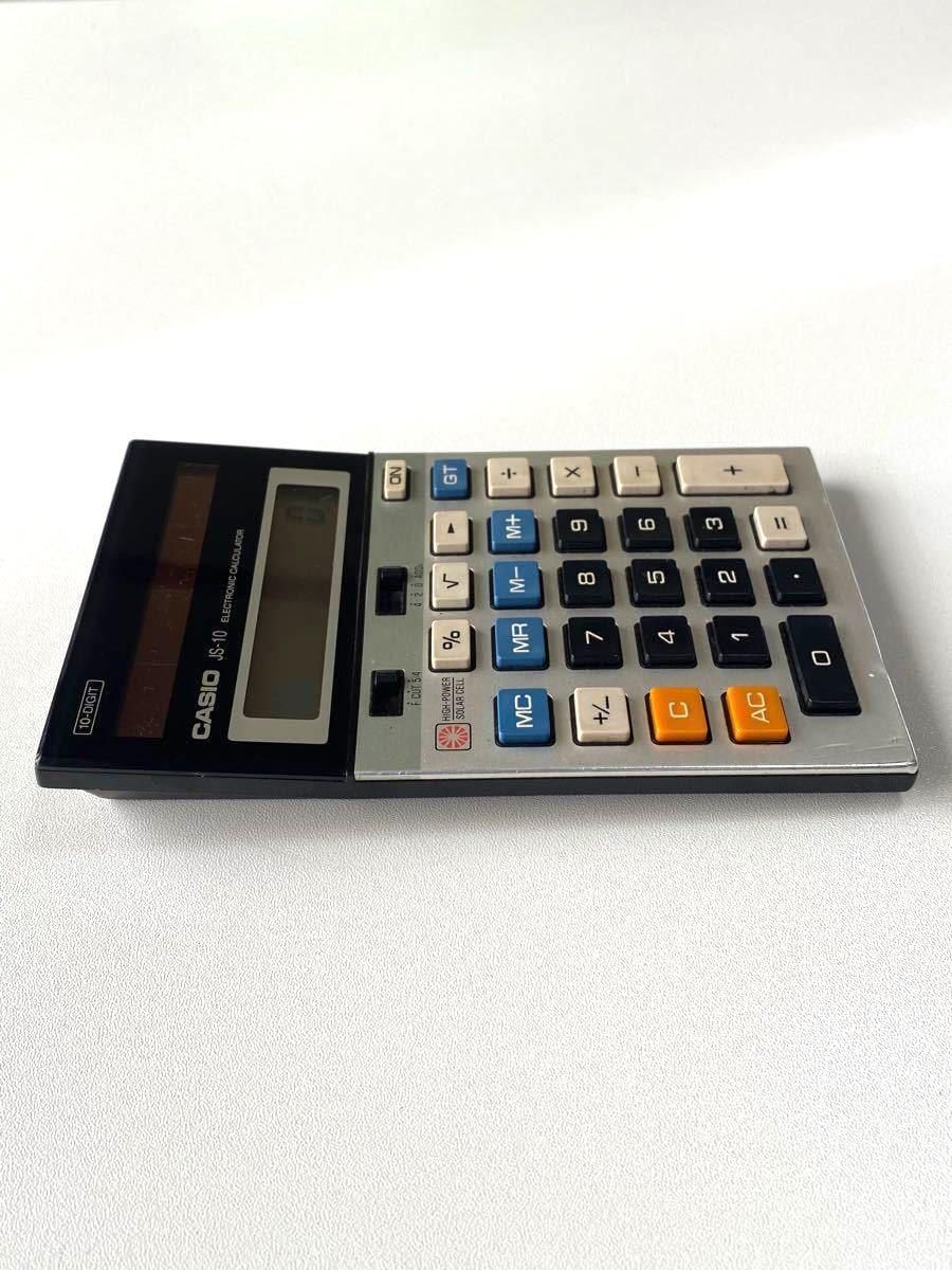 CASIO JS-10  レトロ 電卓