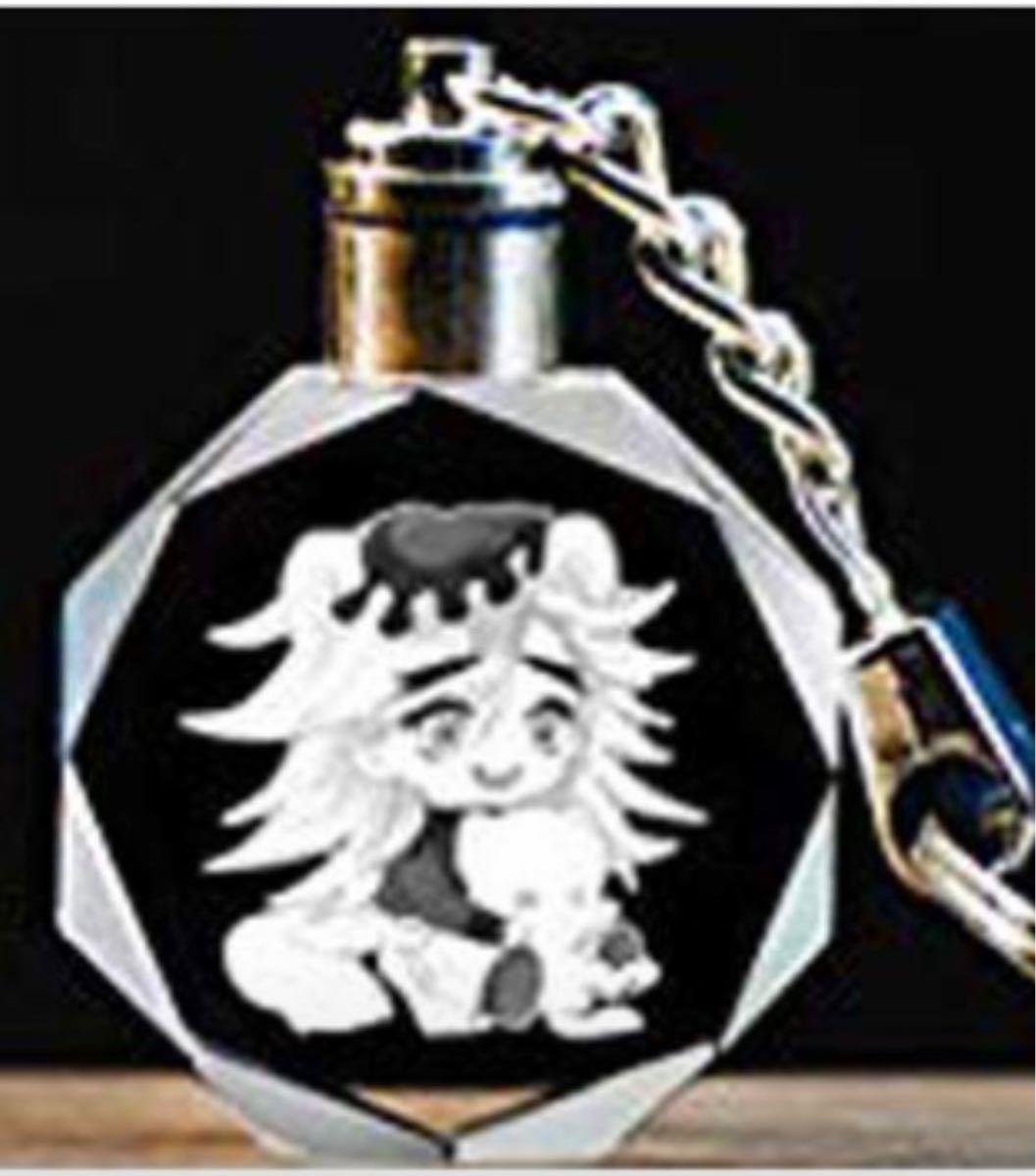 鬼滅の刃 煉獄杏寿郎光るクリスタルキーホルダー