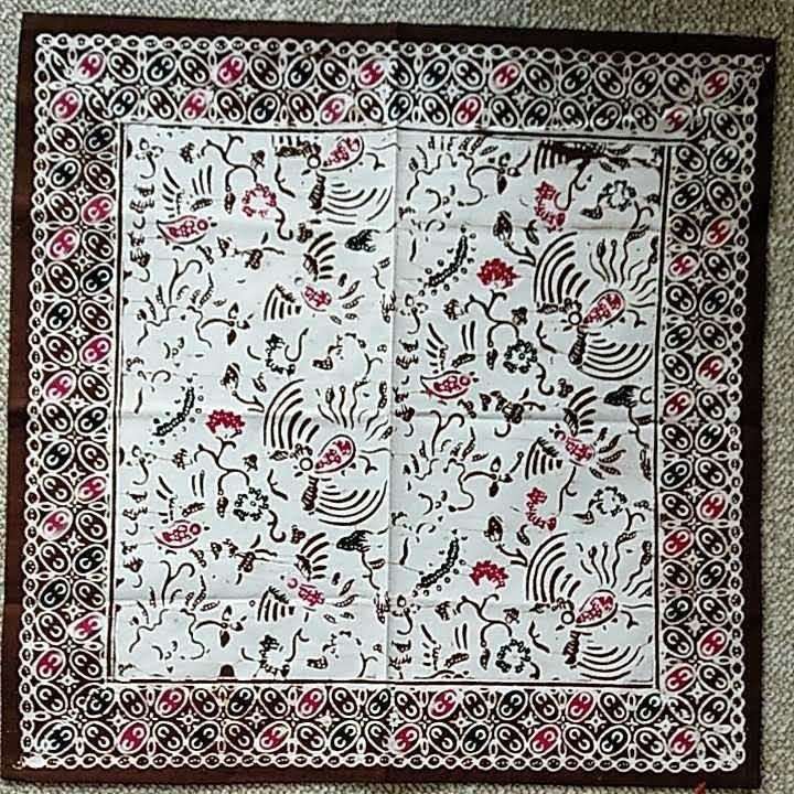 インドネシア バティック バンダナ スカーフ