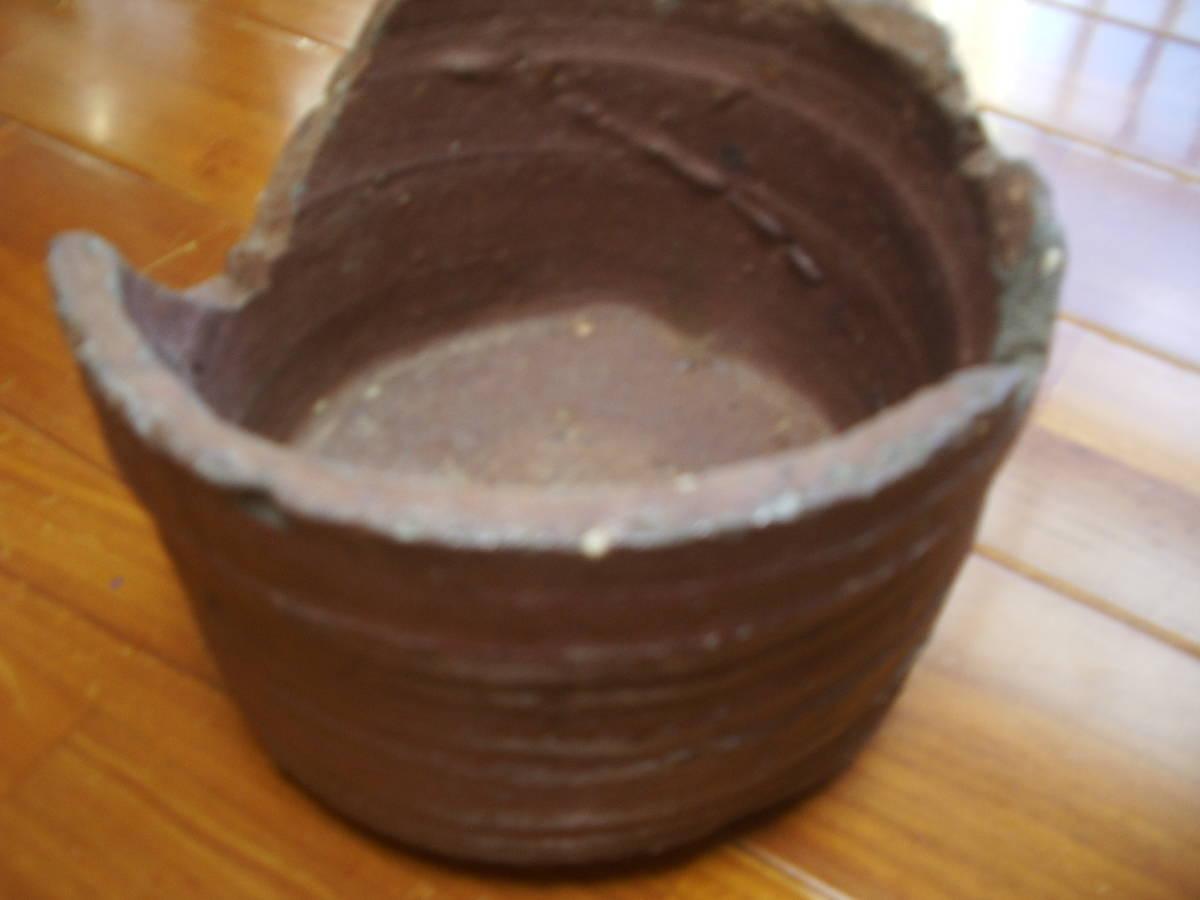 信楽?サヤ(窯道具)① 花器、香立てとしていろいろ使えます。 <古民藝、古伊万里、信楽、常滑、唐津>_画像3