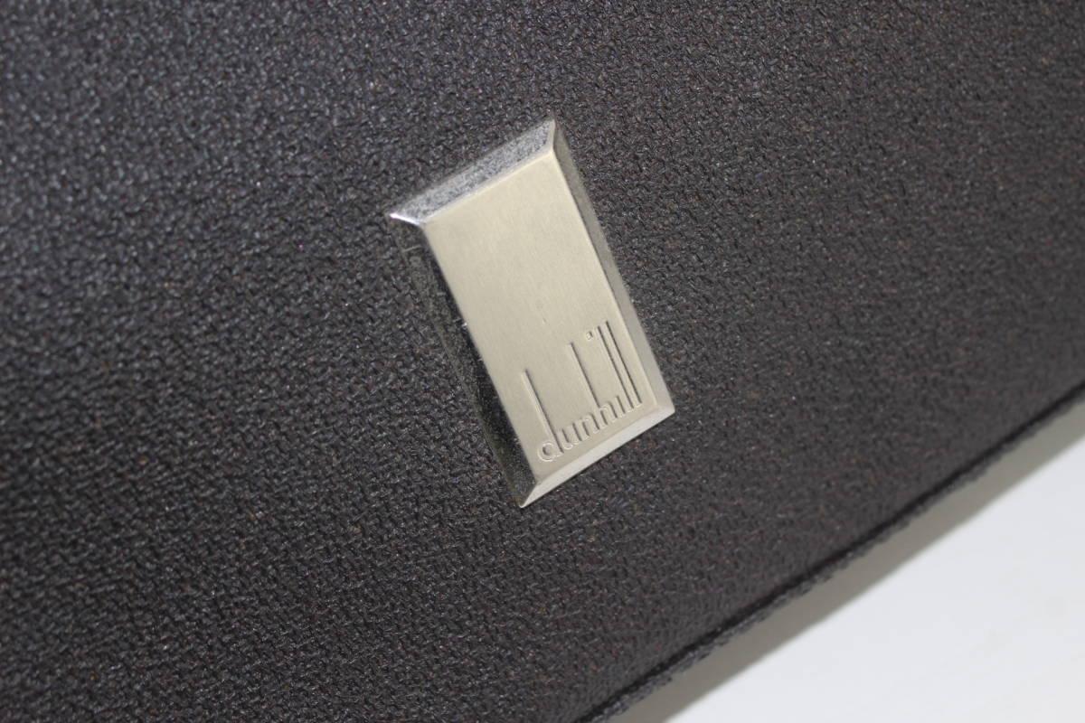 dunhill ダンヒル ビジネスバッグ ブリーフケース PVC X レザー_画像2