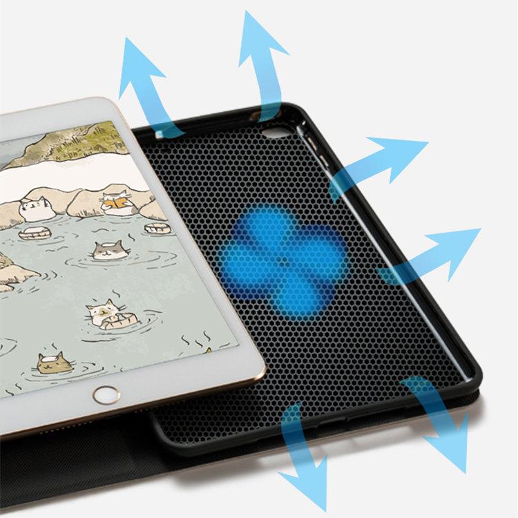 2020年 iPad Air4 ケース 10.9インチ iPad Air(第4世代)ケース タブレットPC 耐衝撃性高いTPU素材 ソフト 猫 かわいい 保護カバー 耐衝撃_画像6