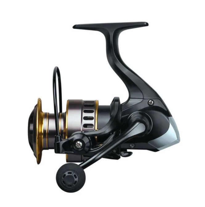 1000~7000 釣りリール 最大ドラッグprowe 10キロリール 釣り高速 金属スプールスピニングリール海水5.2:1_画像1