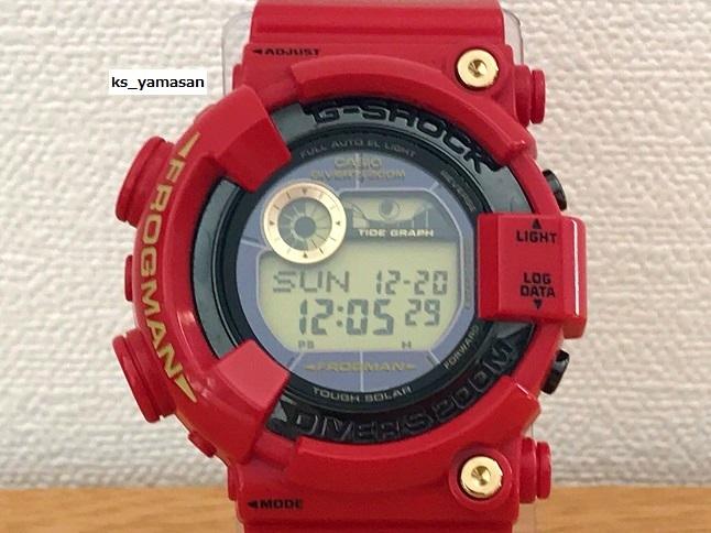☆ 購入者決定済 ☆ GF-8230A-4JR Rising RED ライジングレッド G-SHOCK 30周年 FROGMAN Gショック CASIO カシオ 30th anniversary_画像2