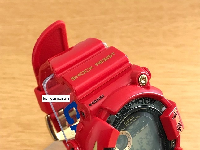 ☆ 購入者決定済 ☆ GF-8230A-4JR Rising RED ライジングレッド G-SHOCK 30周年 FROGMAN Gショック CASIO カシオ 30th anniversary_画像3