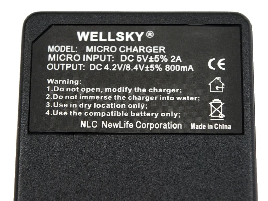 DMW-BMA7 DMW-BM7 DMW-BLB13 用 USB Type C 超軽量 急速 互換充電器 DE-A43A バッテリーチャージャー Panasonic DMC-FZ8 DMC-FZ18 DMC-FZ38_純正・互換バッテリーに充電可能