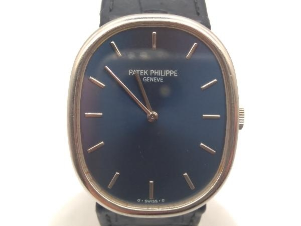 ジャンク 可動品 PATEK PHILIPPE/ゴールデンエリプス/手巻き 腕時計