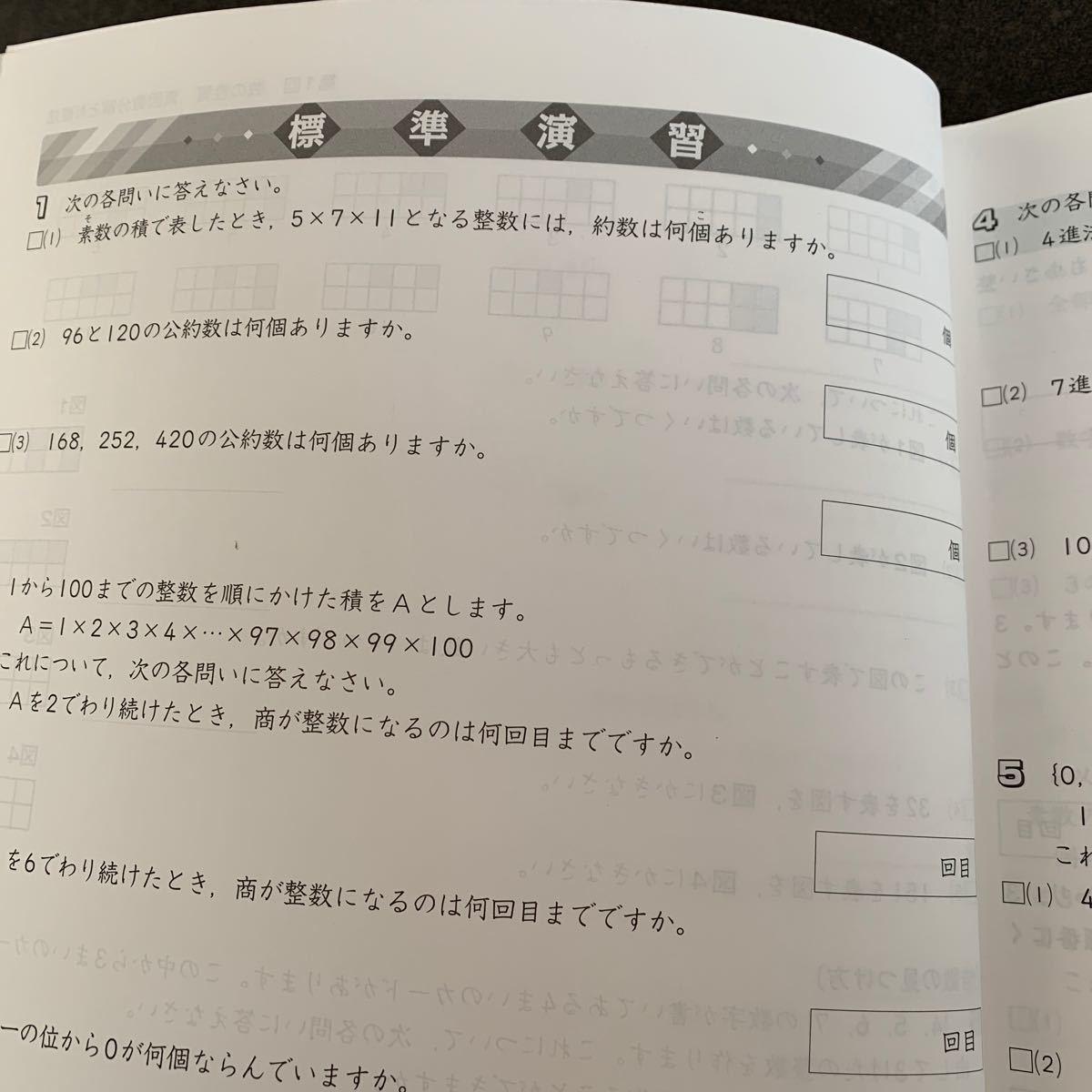 中学受験 新演習 算数 小5下 実力アップ問題集
