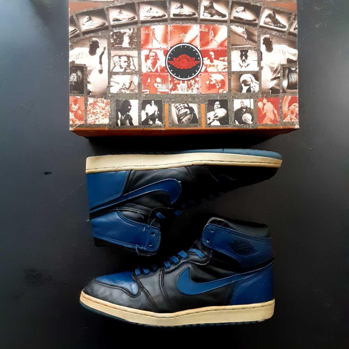 28cm NIKE AIR JORDAN 1 HIGH ROYAL BLUE 851101BY 1985 ナイキ エア ジョーダン ハイ ロ