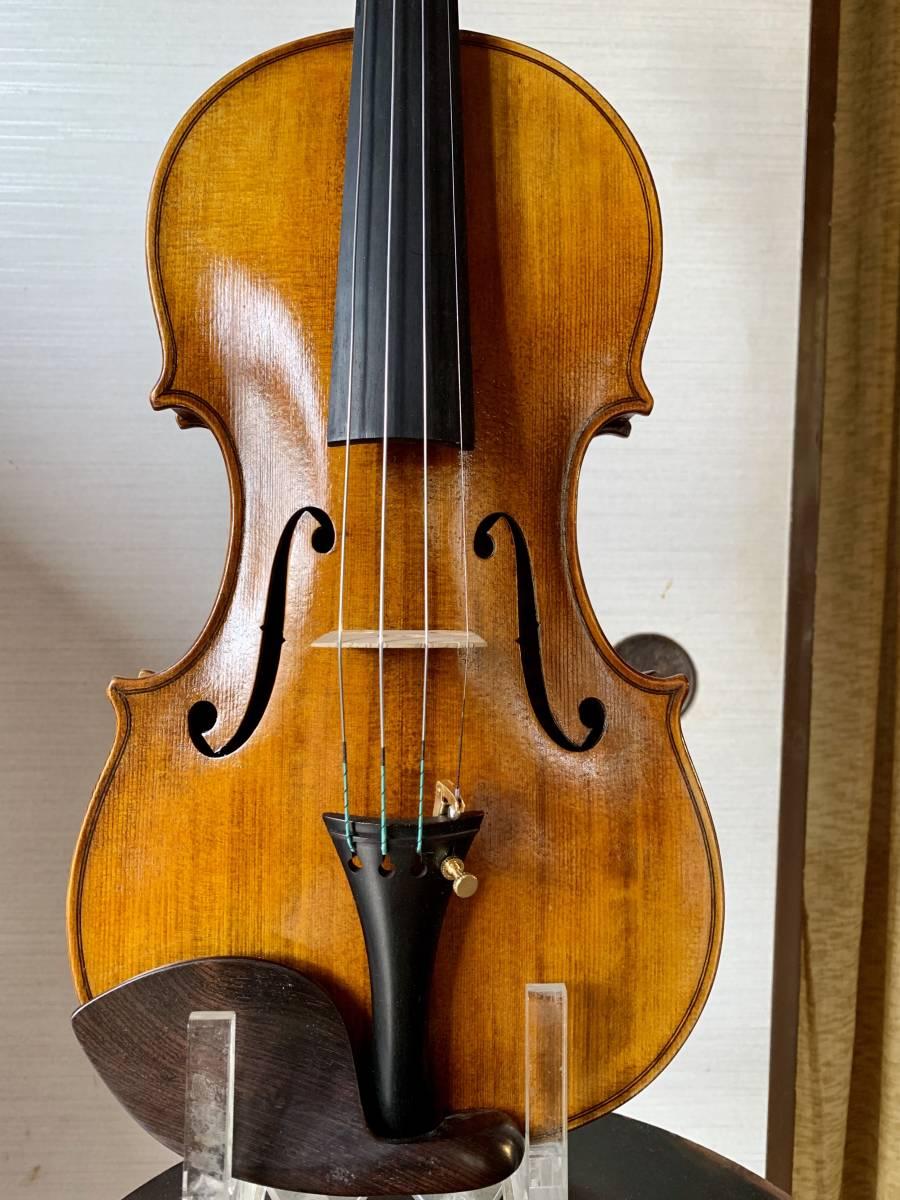 ROCCA , Enrico 1914 年イタリア製バイオリン4/4 弓 SIMON