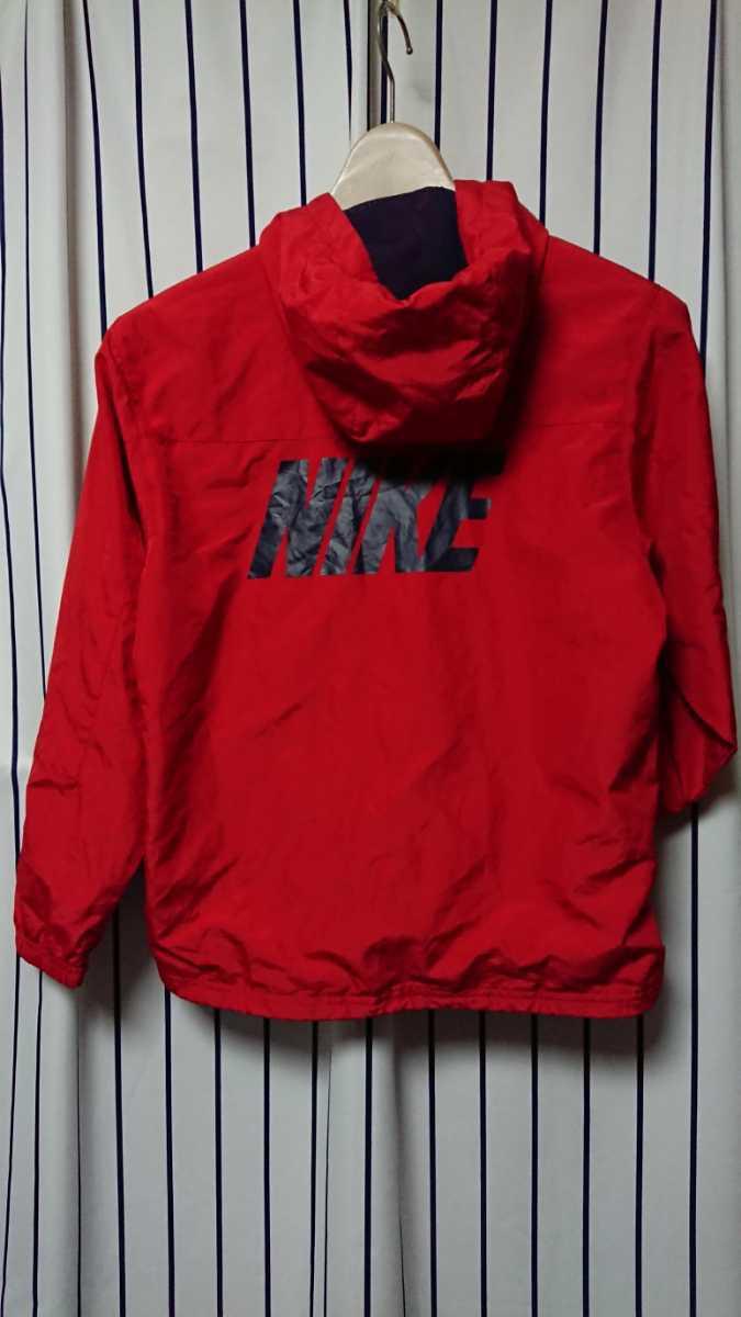 NIKEキッズ用ナイロンパーカージャケット ナイロンジャケット (サイズ140cm) ナイキ ウインドブレーカー 子供用 上着_画像2