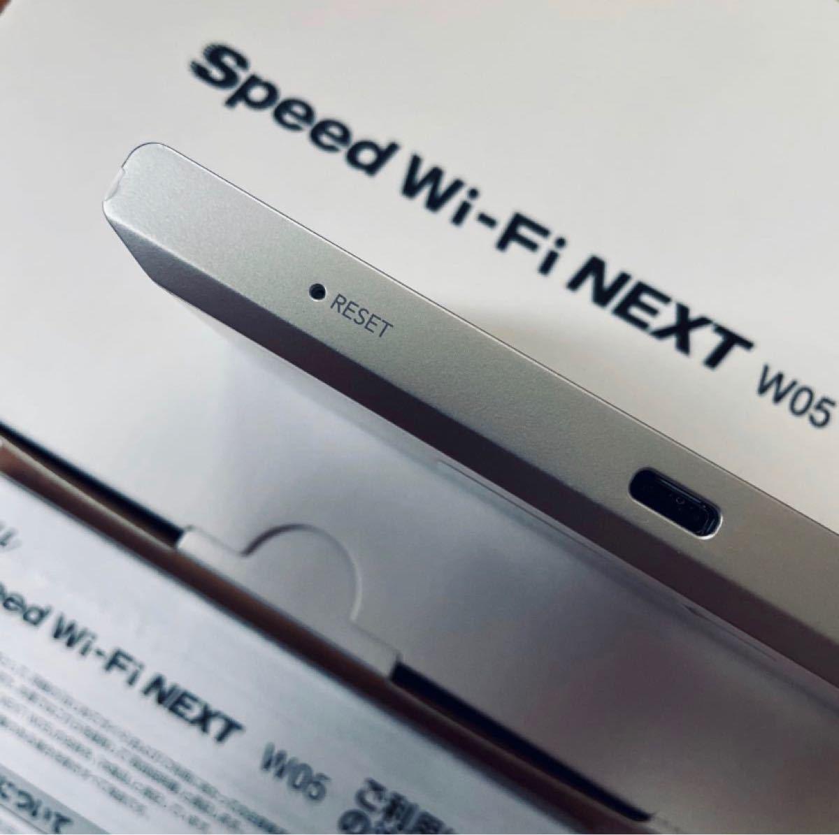 WiMAX 2+ Speed Wi-Fi NEXT W05 モバイルルーター