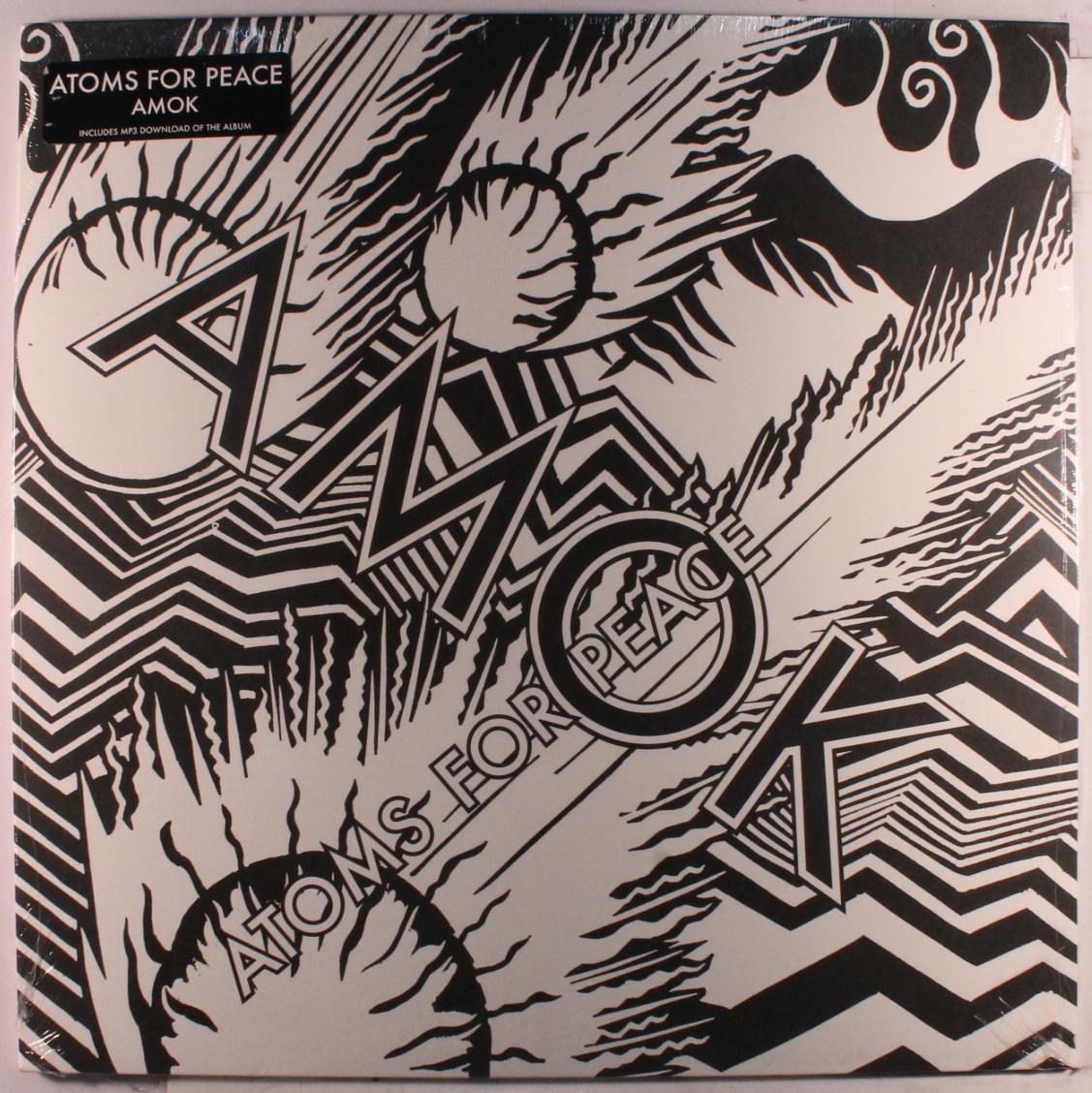 "Stanley Donwood ""Atoms For Peace""「AMOK」直筆サイン エディション66 RADIOHEADトム・ヨーク Thom Yorke_画像5"