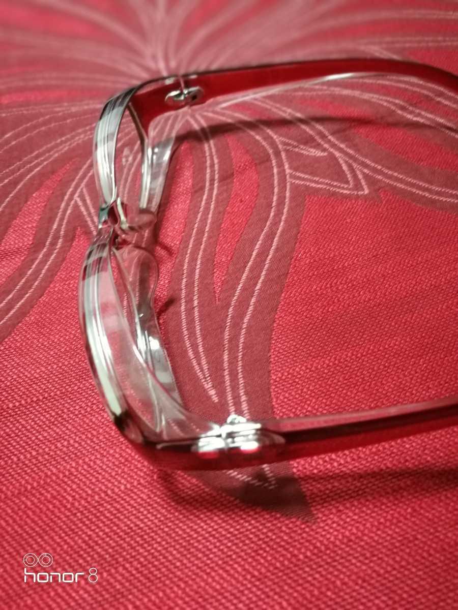 売切値下●即落●花粉用メガネ 伊達眼鏡 ゴーグル 防塵 花粉症 対策 UVカット + サングラス おまけ_画像2