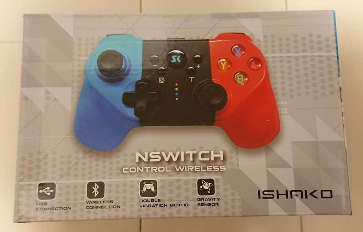 新品☆Nintendo Switchコントローラー無線HD振動 小型6軸ジャイロセンサー搭載ニンテンドースイッチTURBO連射機能 ジャイロ Bluetooth接続