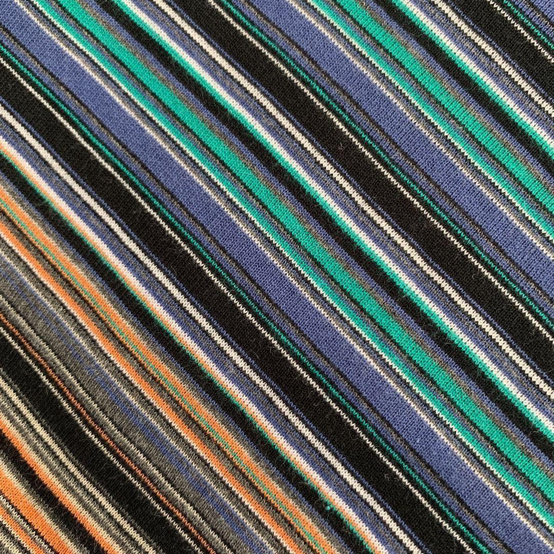 筒状ニット ストライプ ストレッチ 伸縮 生地 リメイク 雑貨 ハンドメイド 手作り 布 スポーティー ジャージ Tシャツ はぎれ ミシン 材料
