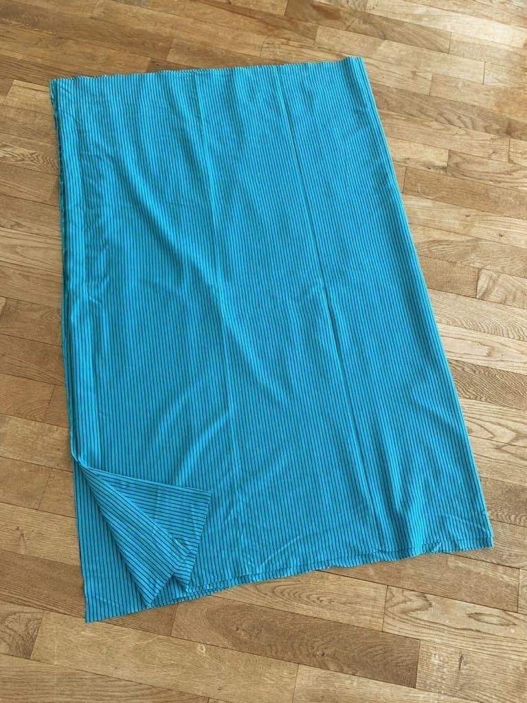 はぎれ ストライプ ボーダー ブルー ストレッチ 伸縮 生地 リメイク 雑貨 ハンドメイド 手作り 布 青 ニット ミシン 縫製 激安 スカート