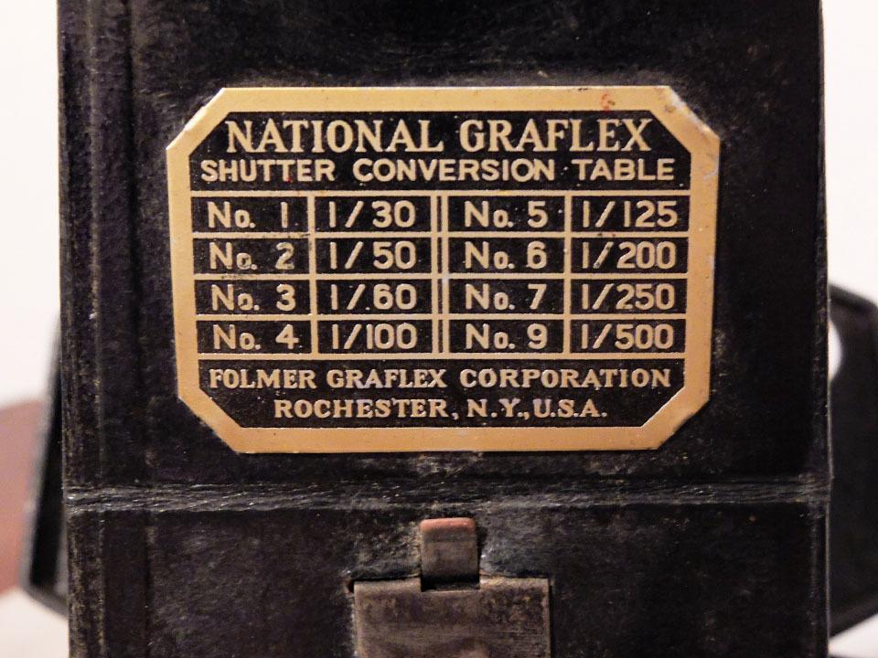 【中古/稀少/ジャンク】グラフレックス ナショナル・グラフレックス I:Graflex National Graflex I_画像10