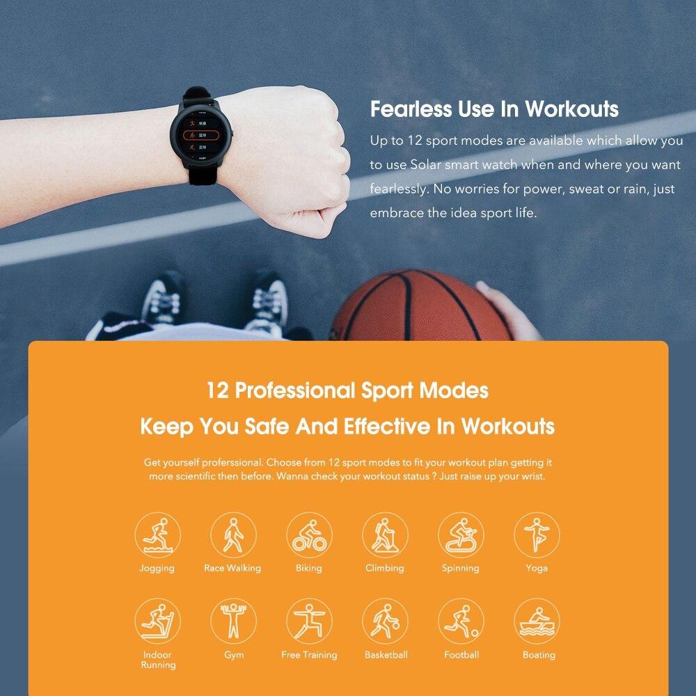 YOUPIN HAYLOUソーラースマート腕時計韓国グローバルバージョンスポーツフィットネスブレスレットバンドスマートウォッチ女性男性アンドロ _画像5