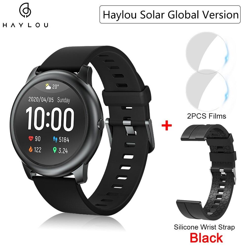 YOUPIN HAYLOUソーラースマート腕時計韓国グローバルバージョンスポーツフィットネスブレスレットバンドスマートウォッチ女性男性アンドロ _画像9