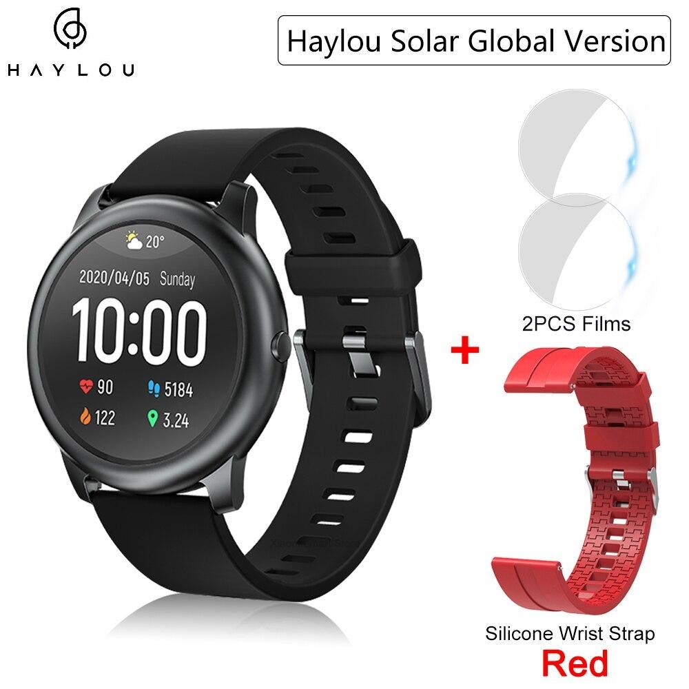 YOUPIN HAYLOUソーラースマート腕時計韓国グローバルバージョンスポーツフィットネスブレスレットバンドスマートウォッチ女性男性アンドロ _画像10