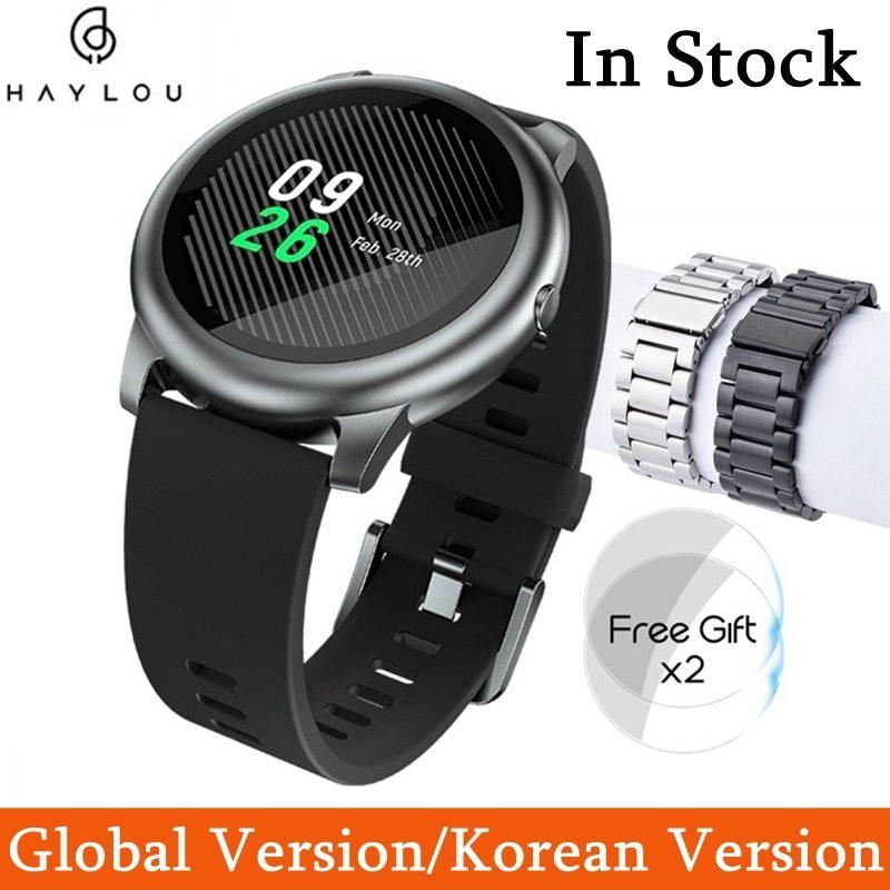 YOUPIN HAYLOUソーラースマート腕時計韓国グローバルバージョンスポーツフィットネスブレスレットバンドスマートウォッチ女性男性アンドロ _画像1