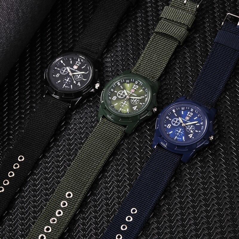 ホット販売軍用時計男性 GEMIUS 陸軍メンズ腕時計メンズスポーツ腕時計ナイロンバンド男性時計リロイ HOMBRE レロジオ MASCULINO_画像5