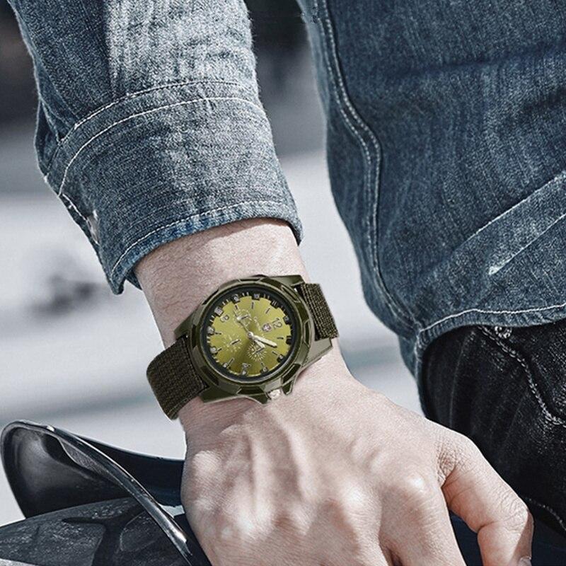 ホット販売軍用時計男性 GEMIUS 陸軍メンズ腕時計メンズスポーツ腕時計ナイロンバンド男性時計リロイ HOMBRE レロジオ MASCULINO_画像6