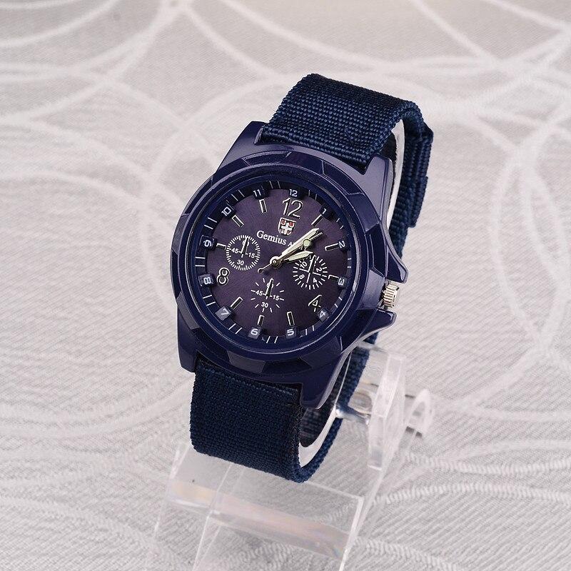 ホット販売軍用時計男性 GEMIUS 陸軍メンズ腕時計メンズスポーツ腕時計ナイロンバンド男性時計リロイ HOMBRE レロジオ MASCULINO_画像7
