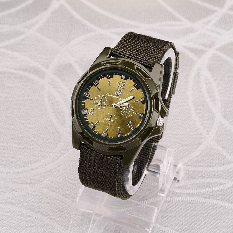 ホット販売軍用時計男性 GEMIUS 陸軍メンズ腕時計メンズスポーツ腕時計ナイロンバンド男性時計リロイ HOMBRE レロジオ MASCULINO_画像8