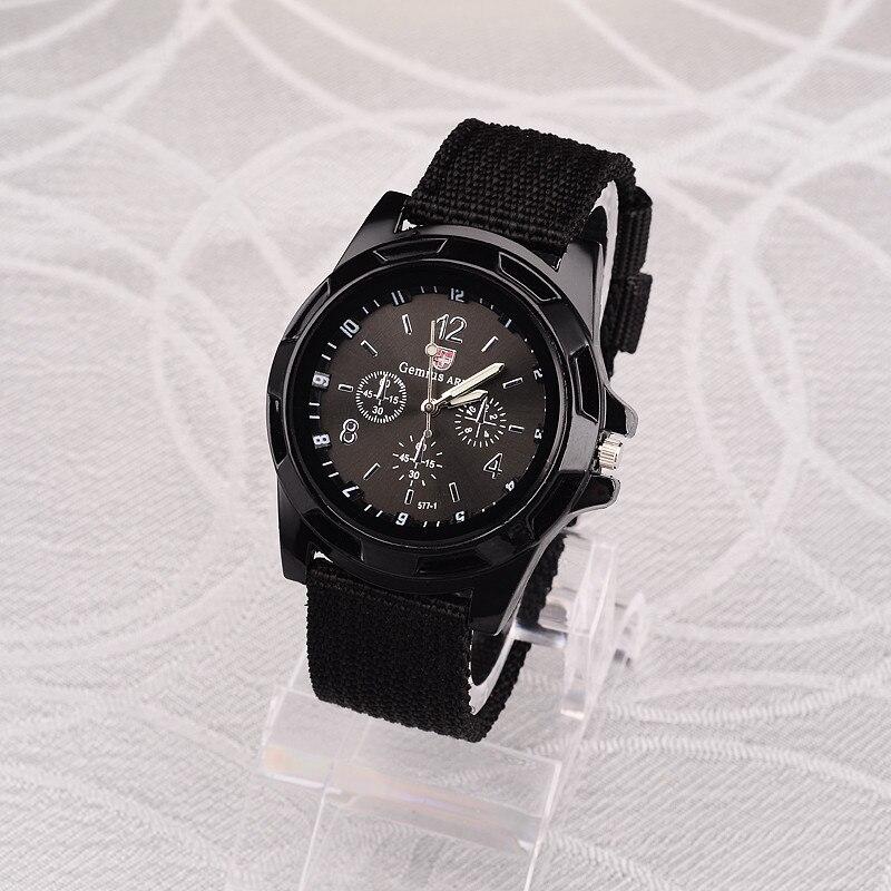 ホット販売軍用時計男性 GEMIUS 陸軍メンズ腕時計メンズスポーツ腕時計ナイロンバンド男性時計リロイ HOMBRE レロジオ MASCULINO_画像9