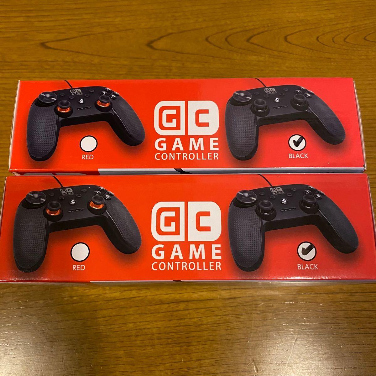 ゲームコントローラー Nintendo Switch対応