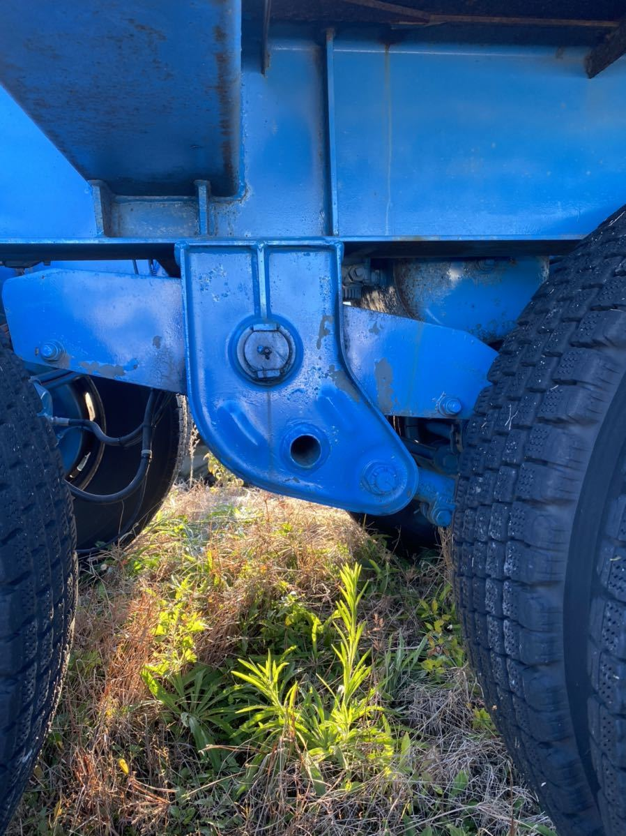 「トレクス セミトレーラー コンテナトレーラー 書類付き ヘッドトラック 用 トレーラー」の画像3