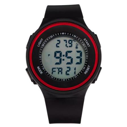 G3058 ファッション屋外スポーツ腕時計メンズ多機能腕時計アラーム時計クロノ3Bar防水デジタル腕時計_画像4