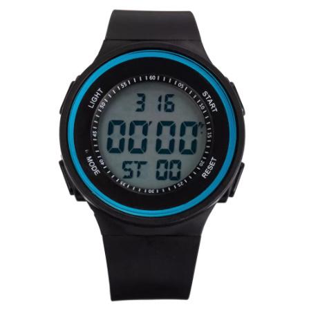 G3058 ファッション屋外スポーツ腕時計メンズ多機能腕時計アラーム時計クロノ3Bar防水デジタル腕時計_画像5