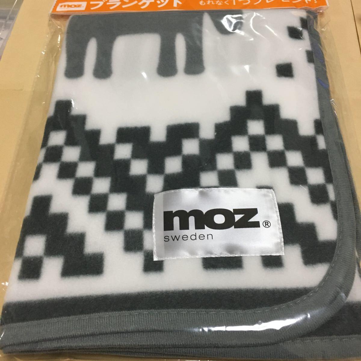 moz モズ ブランケット 非売品