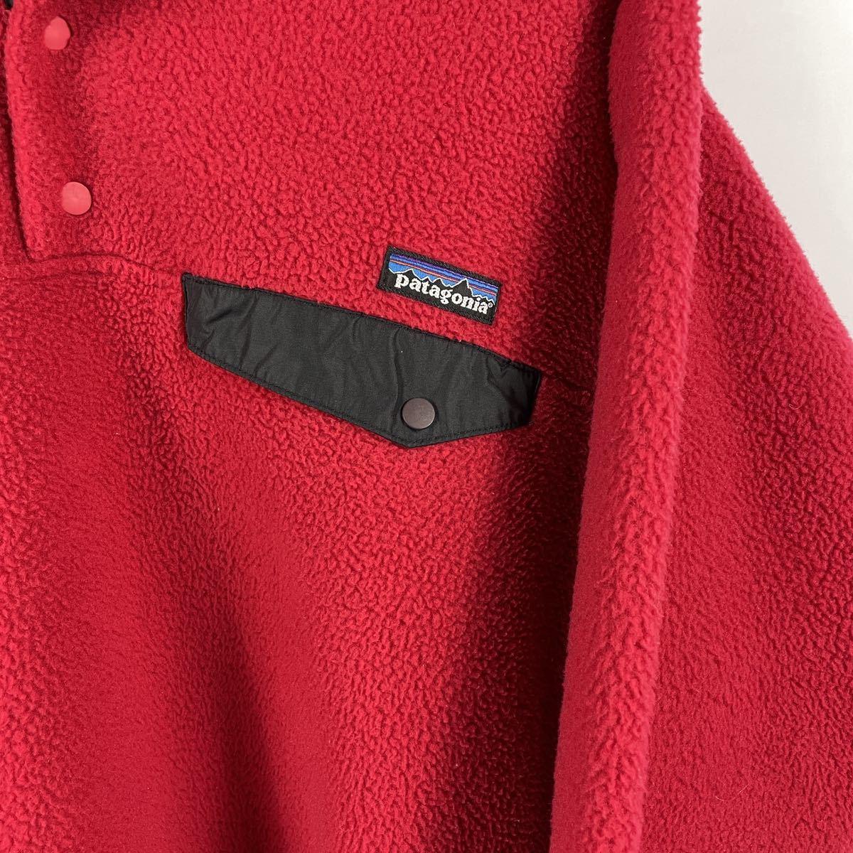 【USA製】2000年製パタゴニア スナップT シンチラ ハーフボタン フリース フリースジャケット patagonia