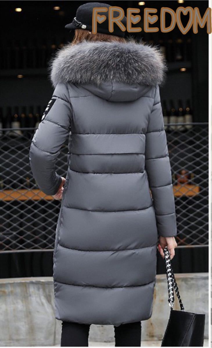 大人気コートジャケット ファーダウン棉フード 厚手コートアウター 防寒ロング