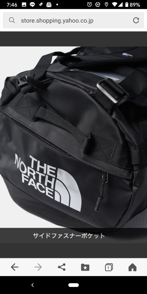 THE NORTH FACE ザ ノースフェイス スポーツバッグ BASE CAMP DUFFEL 50L 新品未使用タグ付