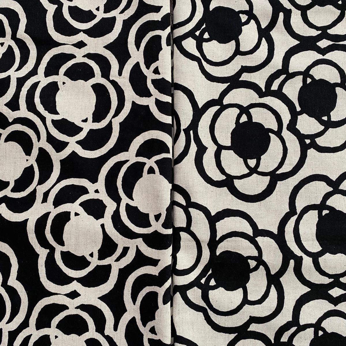 [ 専用です ]薔薇柄 黒50cm/ カメリア柄2色/ ダリア柄1m