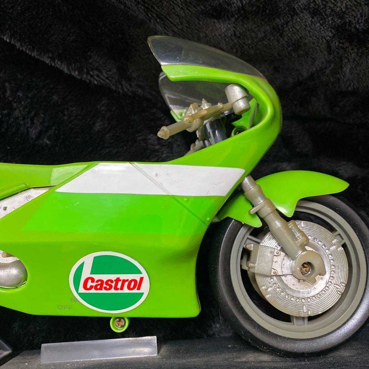 【現状渡し】Kawasaki YE-500 バイク型固定電話 ユピテル工業株式会社 レトロ コレクション品 カワサキ バイク アンティーク 電話機電話器_画像7