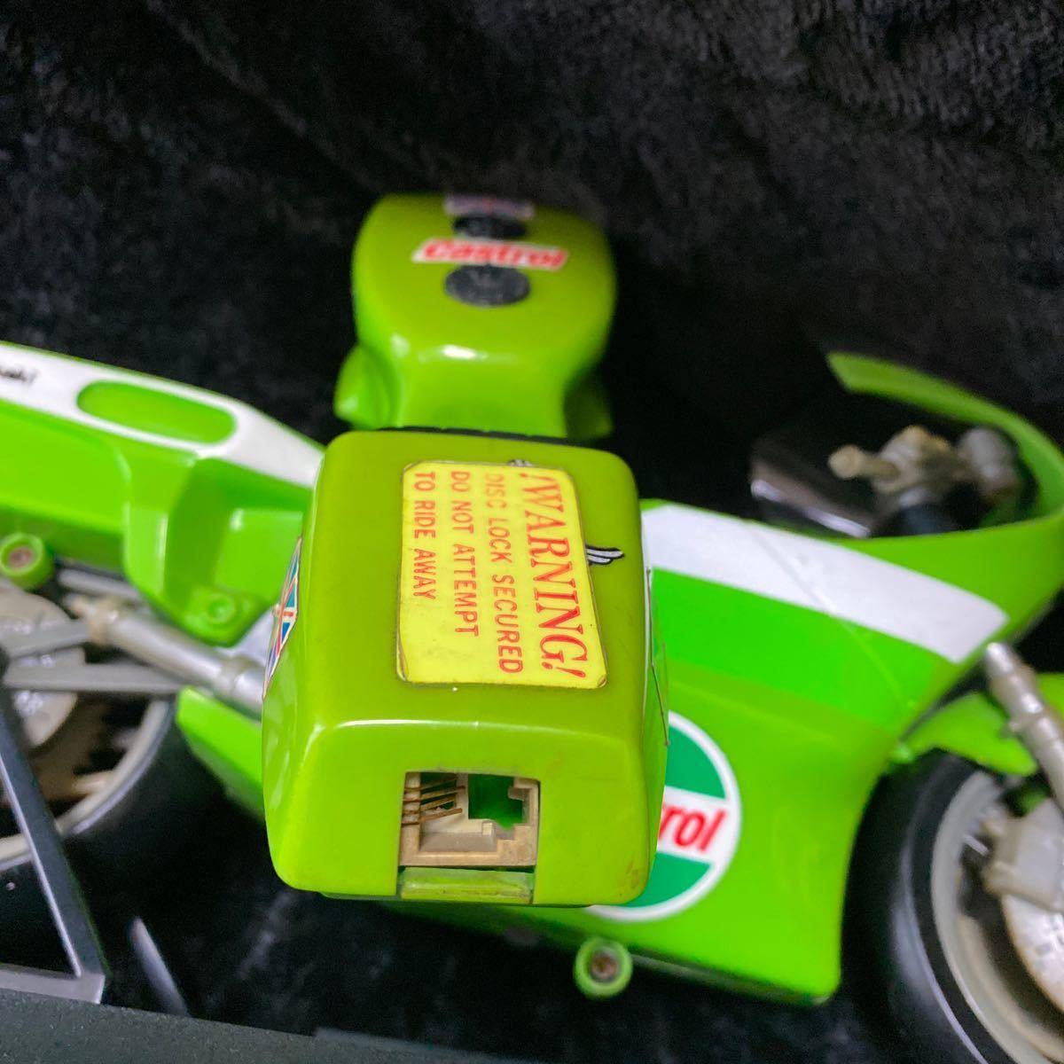 【現状渡し】Kawasaki YE-500 バイク型固定電話 ユピテル工業株式会社 レトロ コレクション品 カワサキ バイク アンティーク 電話機電話器_画像9