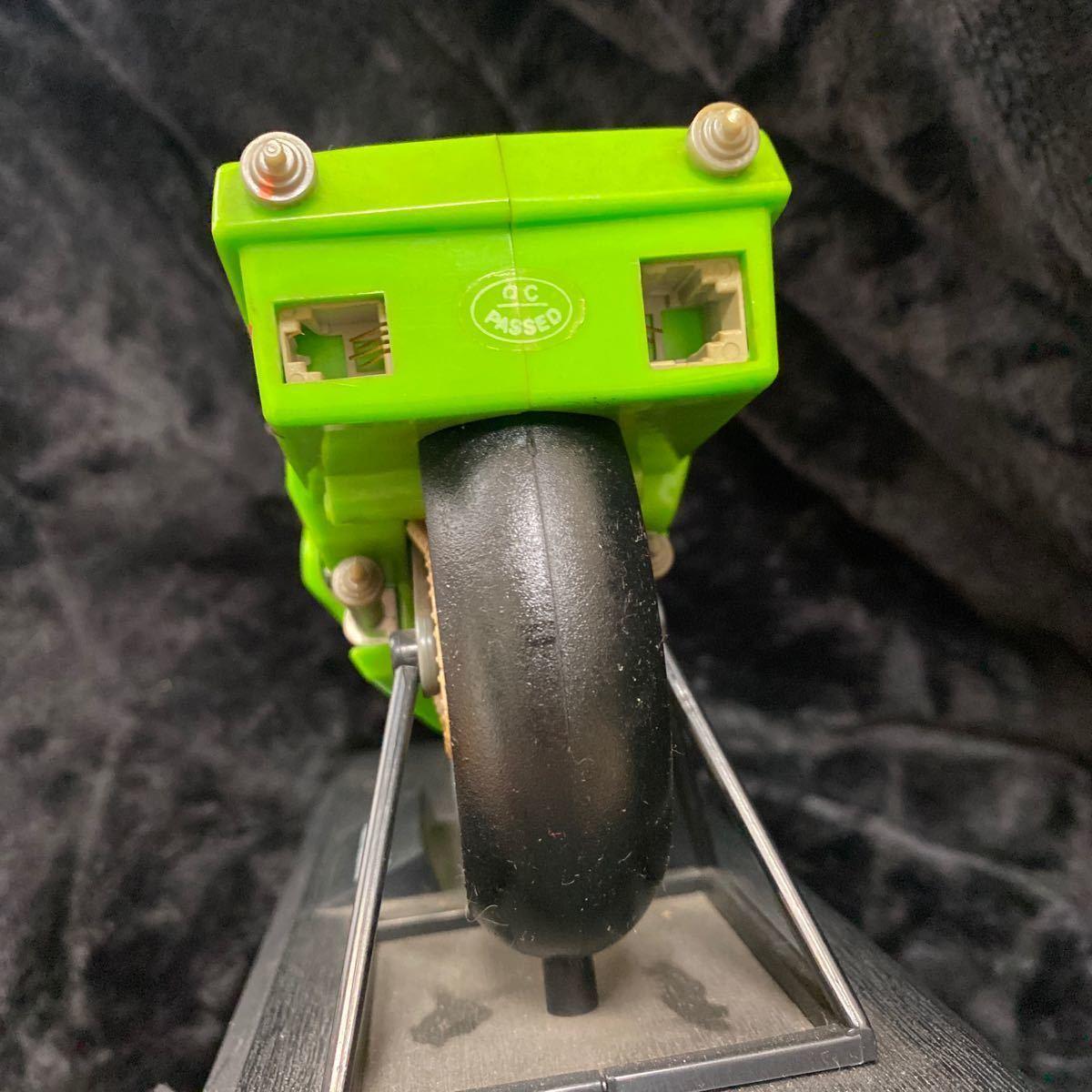 【現状渡し】Kawasaki YE-500 バイク型固定電話 ユピテル工業株式会社 レトロ コレクション品 カワサキ バイク アンティーク 電話機電話器_画像3
