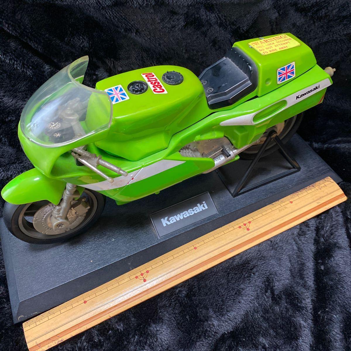【現状渡し】Kawasaki YE-500 バイク型固定電話 ユピテル工業株式会社 レトロ コレクション品 カワサキ バイク アンティーク 電話機電話器_画像1