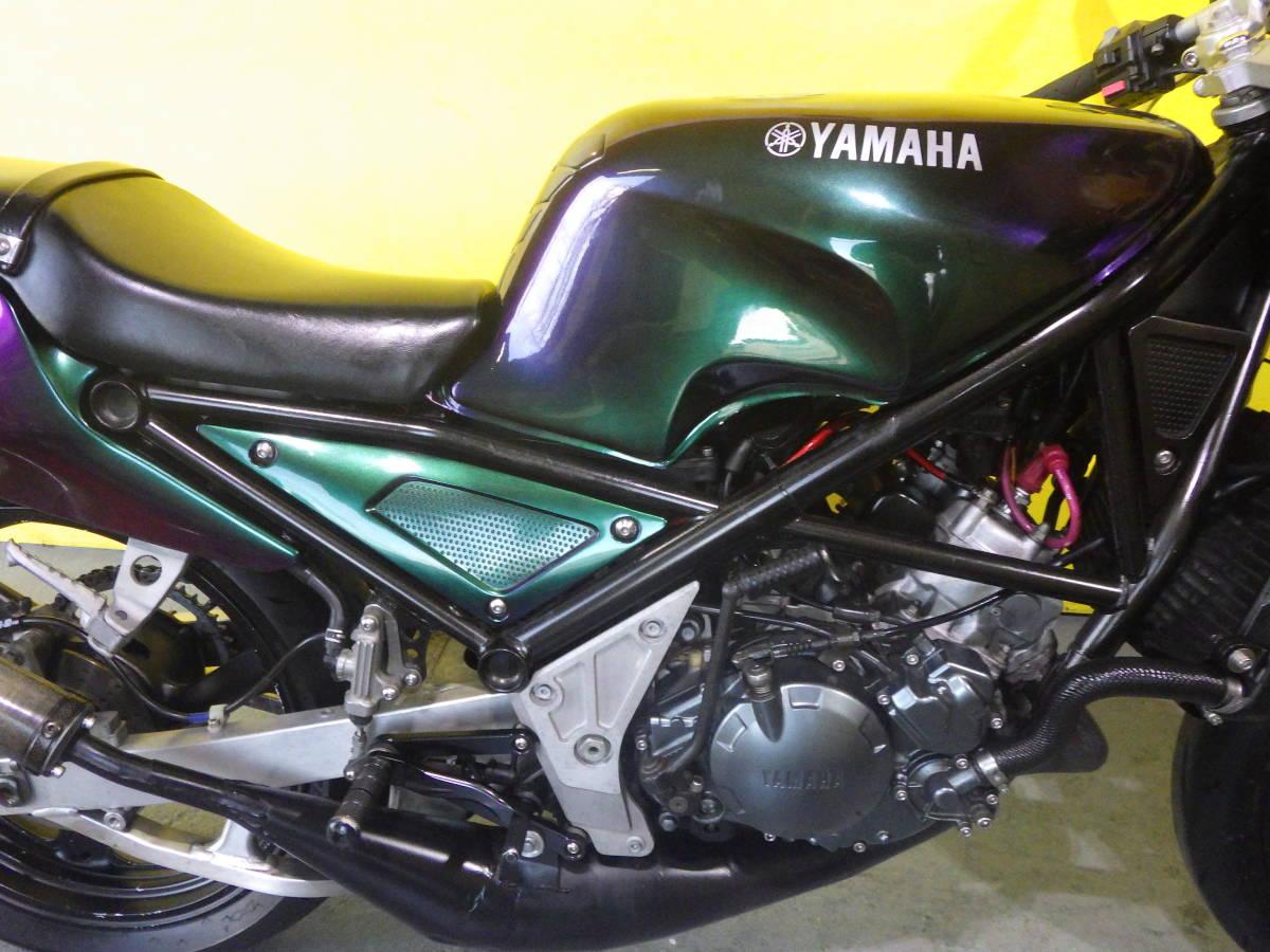 「ばいく屋いちばん ヤマハ YAMAHA R1-Z 250 マジョーラカラー ヨシムラテンプメーター MAGIC-FIREチャンバー」の画像3