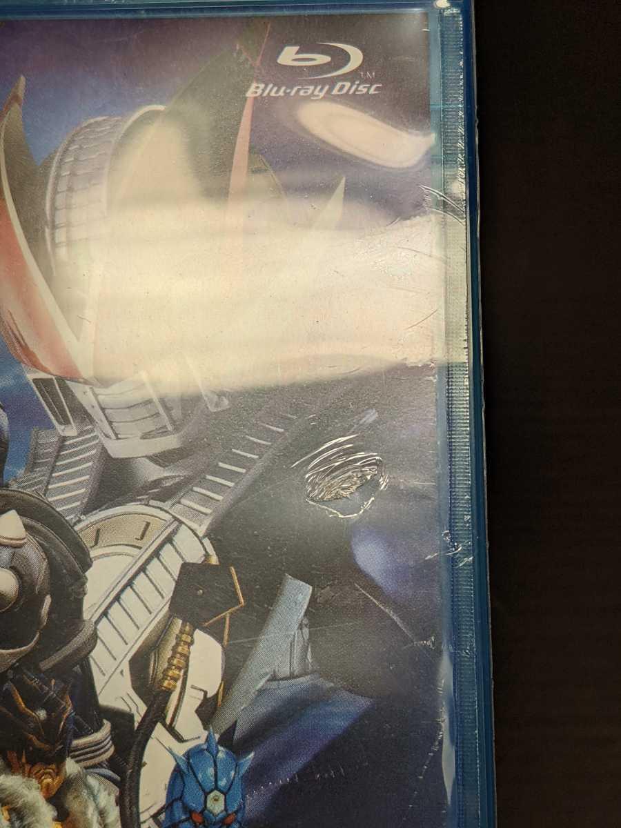 Blu-ray 未開封 仮面ライダー×仮面ライダー×仮面ライダー THE MOVIE 超・電王トリロジー EPISODE BLUE 派遣イマジンはNEWトラル / bj118_ビニールに破れがあります